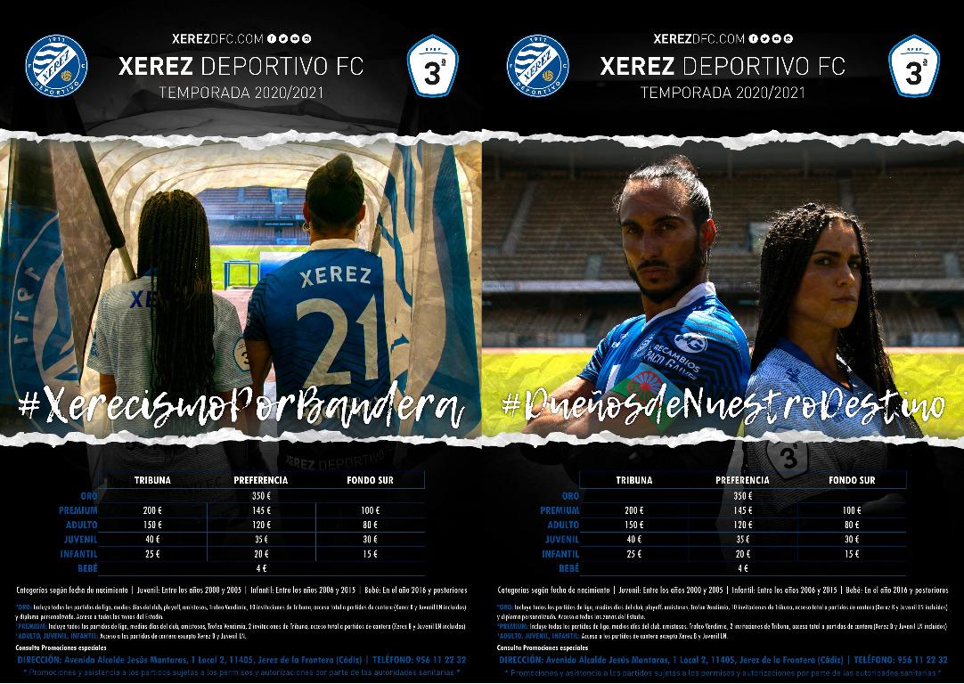 CAMPAÑA DE SOCIOS XEREZ DEPORTIVO FC 2020-2021