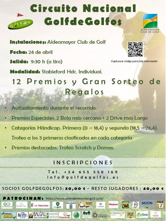 CIRCUITO NACIONAL - ALDEAMAYOR - 24 DE ABRIL 2021